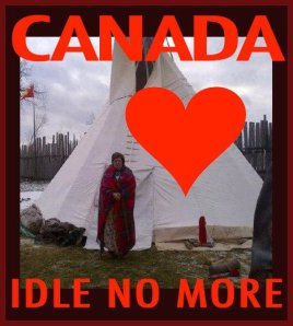 canada love idle no more
